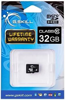 G.SKILL FF-TSDG32GN-C10 32GB MicroSDHC Card