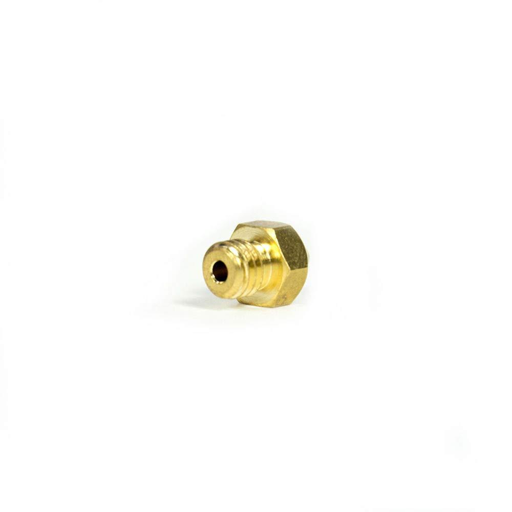 Longer 5pcs 3D Printer Nozzle 0.4mm MK8 Brass 3D Print Head M6 1.75mm for Makerbot Anet A8 Creality CR-10 CR-10S Ender 3