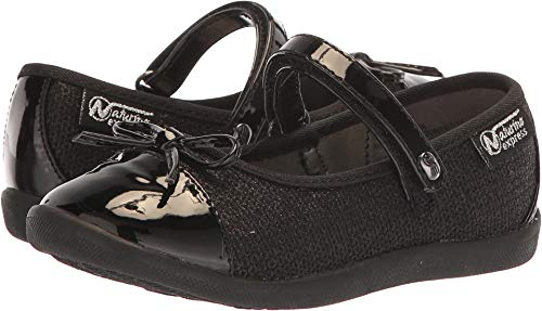 Naturino Toddler Girl Shoes (Naturino Express Girl's Lucetta (Toddler/Little Kid) Black 9)