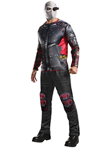Rubie's Men's Suicide Squad Deluxe Deadshot Costume, Multi, (Deadshot Mask For Sale)