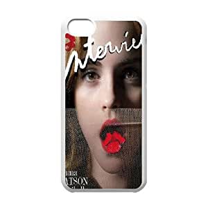 Hjqi - Personalized Emma Watson Cell Phone Case, Emma Watson Customized Case for iPhone 5C