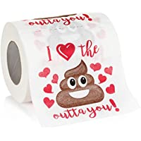 Maad Romantic Novelty Toilet Paper - Funny Gag Gift for...
