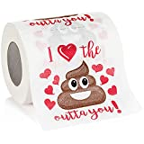 Toys : Maad Romantic Novelty Toilet Paper - Funny Gag Gift for Valentine's Day or Anniversary Present