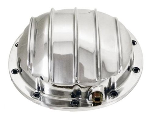 (1964-UP Chevy/GM Polished Aluminum Rear Differential Cover - 10 Bolt w/ 8.5