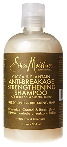 Shea Moisture Strengthening Shampoo Anti-Breakage 13oz Yu...