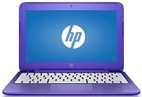 HP Stream 14 inch Premium Flagship Laptop, Intel Celeron Dual Core up to 2.48GHz, 4GB RAM, 32GB Solid State Drive, Wifi, Bluetooth, Webcam, USB 3.0, Windows 10 Home, Purple(Certified Refurbished) - Hp Laptops On Sale