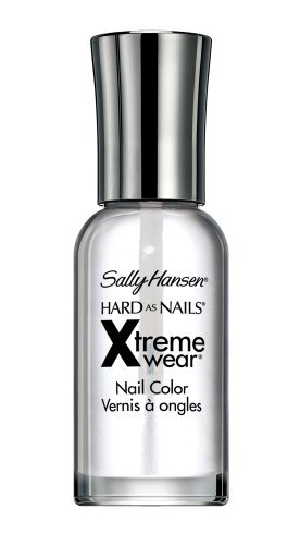 Sally Hansen Hard as Nails Xtreme Wear, Invisible 0.4 oz (Pack of 2) ()