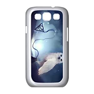 Samsung Galaxy S3 9300 Cell Phone Case White Deathly Hallows U3586155