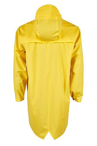 Manteau Long RAINS Jacket Yellow Jaune Homme UEdOqwBg