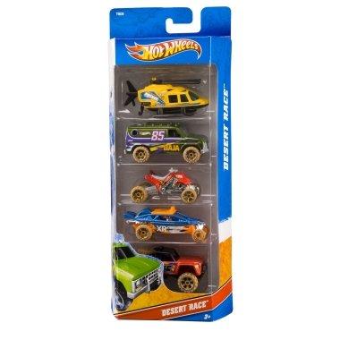 Hot Wheels 5 Car Gift Pack - Desert Race (T8639)