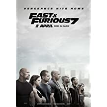 Fast And The Furious 7 Movie Limited Print Photo Poster Size 8x10 #2 Paul Walker Vin Diesel The Rock Ronda Rousey
