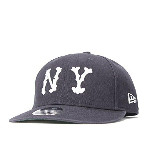 (ニューエラ) NEW ERA キャップ スナップバック LP 9FIFTY BASIC FABRICS MLB ニューヨーク ハイランダース ネイビー FREE (サイズ調整可能)