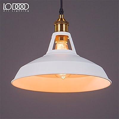 Leihongthebox Lámpara de techo colgante Vintage Industrial Sombra ...