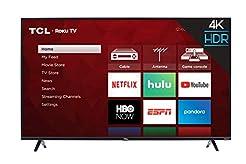 TCL 55S425 55 inch 4K Smart LED Roku TV ...