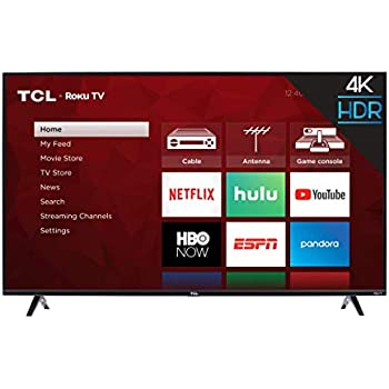 5f0e19c0 Amazon.com: TCL 55S405 55-Inch 4K Ultra HD Roku Smart LED TV (2017 ...