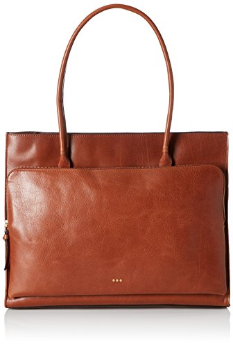 Royal Republiq Mel - Borse a spalla Donna, Braun (Cognac), 15x30x45 cm (B x H T)