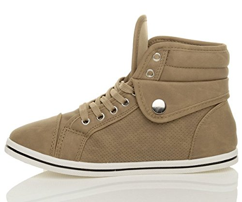 Ajvani , Damen Sneaker Khaki
