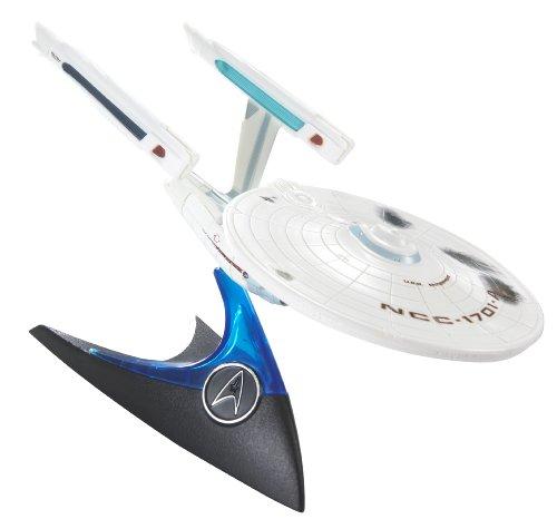 Hot Wheels Star Trek Battle Damaged U.S.S. Enterprise NCC-1701A (Hot Wheels Star Trek Uss Enterprise Ncc 1701)