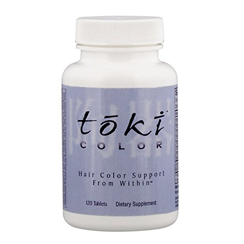 Lane Labs - Toki Color, Supports Your Natural Hair Color Pigmentation (120 Tablets)