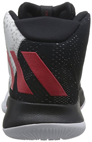 negbas escarl Crazy Chaussures écarlate Heat Multicolore Homme Adidas Basketball ftwbla Noir De PwBdCnvUq