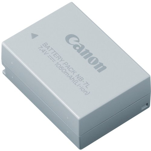 Canon Battery Life (Canon Battery Pack NB-7L)