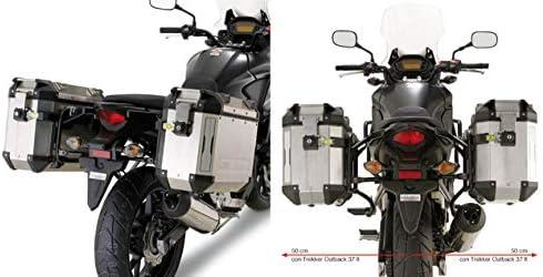 GIVI portavaligie Lateral para Maletas Monokey CAM-Side Trekker Outback pl1121cam para Honda CB500 X