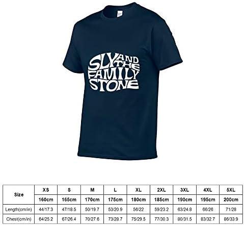 スライ&ザ・ファミリー・ストーン Tシャツ 半袖 クルーネック 2020創意デザイン ファション 吸汗速乾 プリント おしゃれ 春 夏 秋 メンズ