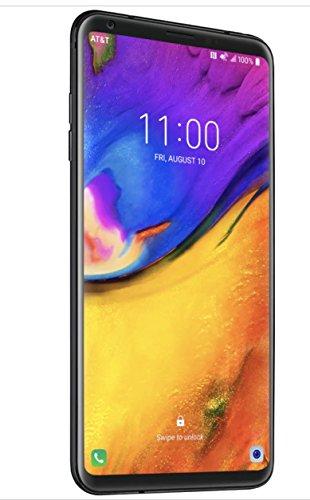 LG V35 ThinQ V35 64GB Unlocked GSM Phone w/ Dual 16MP Camera - Aurora Black