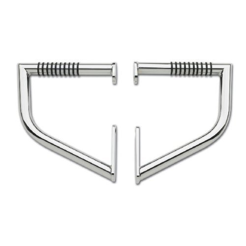 - LINDBY 203 Chrome Rear Linbar Highway Bar (Fits 1996-2016 Harley-Davidson Flst/Fxst Softail Models)