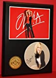 Olivia Newton John Limited Edition Picture Disc CD Rare Collectible Music Display