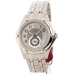Wenger Swiss Military 79008 Mens Standard Issue Steel Date Casual Watch