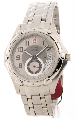 Wenger-Swiss-Military-79008-Mens-Standard-Issue-Steel-Date-Casual-Watch