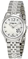 Raymond Weil Women's 5670-ST-05985 Freelancer White Mother-Of-Pearl Dial Watch by Raymond Weil