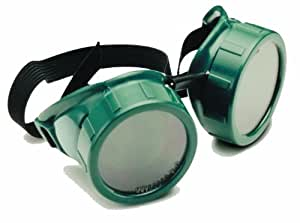 Welding Goggles, 50 mm Cup Shade 5 Lens