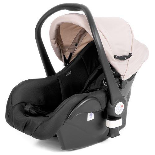 Froggy® Autositz (Babyschale) COCOON Gruppe 0, 0+ (bis 13 kg) in sand