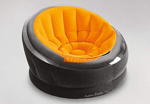 Intex Inflatable Sunny Orange Empire Chair 68582EP (Inflate Chair)