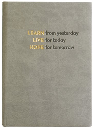 Embossed Learn, Live, Hope, Journal Diary, Hard Cover, Lined 5x7""