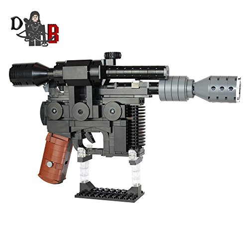 Star Wars Custom Han Solo DL-44 Heavy Blaster Pistol made using LEGO (Han Solo Pistol)