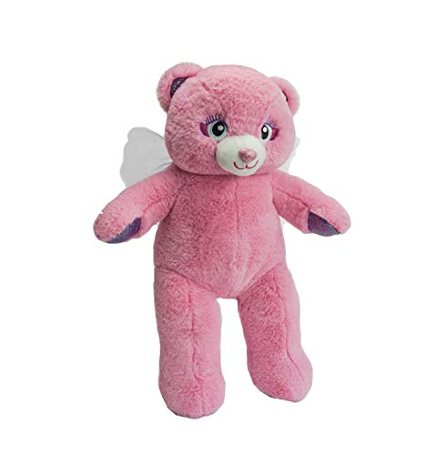 BEAREGARDS.COM Personalized Message Recordable 15 Inch Pink Angel Talking Teddy Bear with 30 Seconds of Recording Time. ()