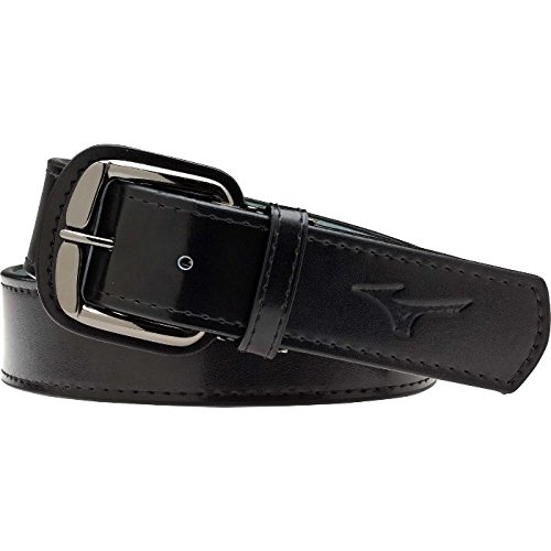 Mizuno Long Classic Belt, Black, 50-Inch