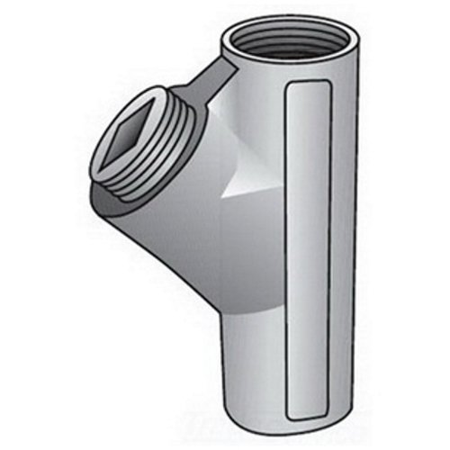 O-Z/Gedney EY-100 EY Sealing Fitting, 1 in, for Use with IMC/Rigid Conduit, Malleable Iron, Zinc Plated
