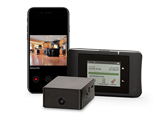 Brickhouse Security B-Link-1C Camscura WiFi With B-Link Secure MiFi Personal Hotspot Cellular (1 Camera, 1 32GB SD, 1 MiFi Kit)