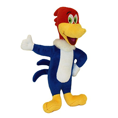 Multipet Woody Woodpecker Officially Licensed Plush Dog Toy, 11-Inch