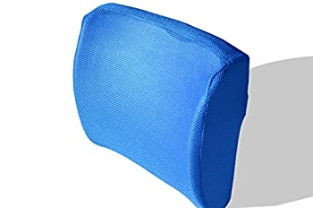 OrthilloW Firm Memory Foam Lumbar Support Orthopedic Seat Comfort Cushion, Blue