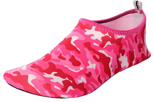 Water and Shoes Quick Slip Womens Shoes CAIHEE Mens Red2 Barefoot Lightweight On Dry Skin Aqua BqZFw8