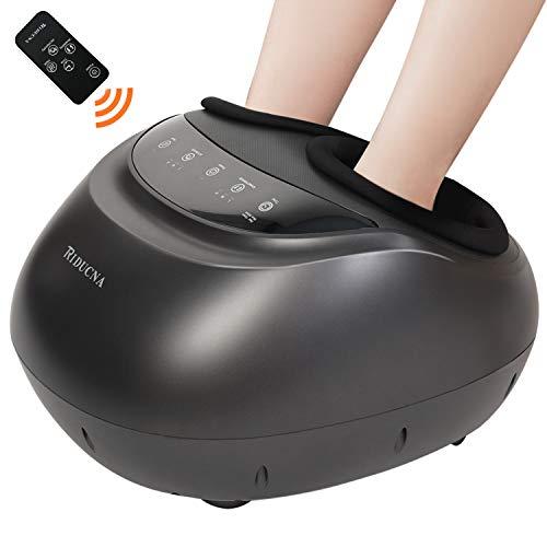 Shiatsu Foot Massager Machine with Heat - Electric Feet Massage with Adjustable Deep Kneading