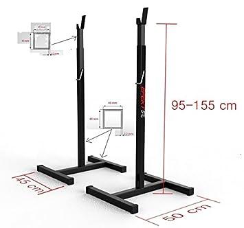 90001012 - Soporte profesional hasta 295 kg Pesas Soporte para mancuernas, soporte mancuernas nuevo: Amazon.es: Deportes y aire libre