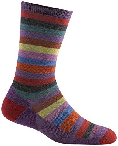 Darn Tough Merino Wool Phat Witch Light Cushion Sock - Women's Plum Medium]()