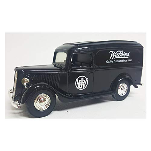 (ERTL Vintage Collectibles 1936 Ford Panel Van Watkins Products Die-Cast Truck Bank #)