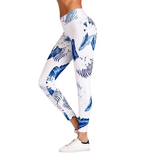 追跡ヒューズ蓄積するE-Scenery Yoga Pants & Leggings PANTS レディース